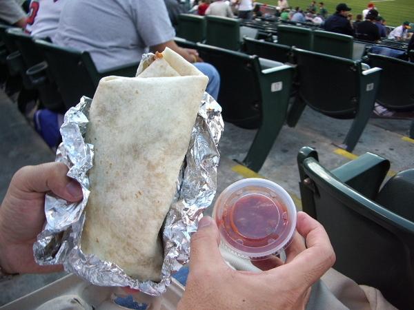 球場內食物