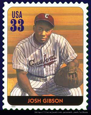 josh gibson stamp