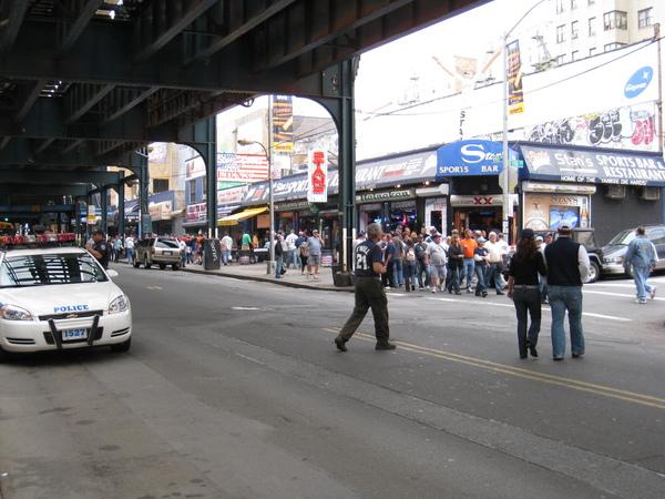 球場旁街景二