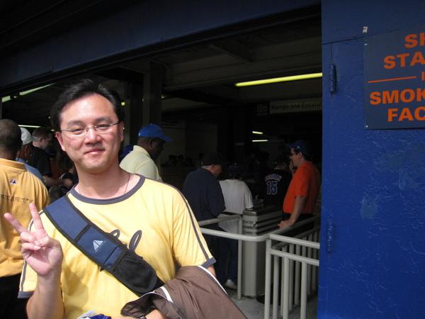謝亞球場入口