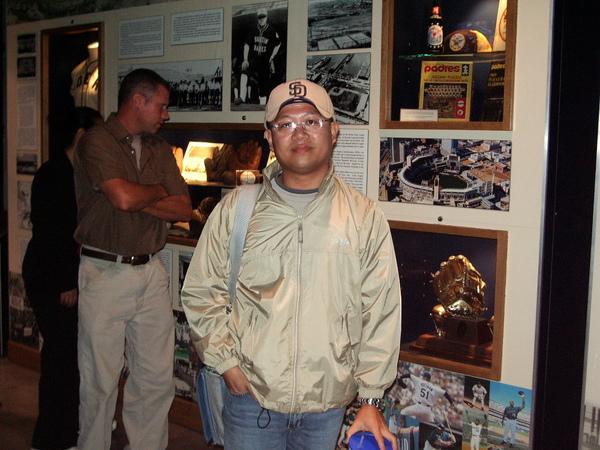球場內文物歷史展覽