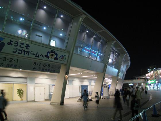 夜晚的名古屋巨蛋.JPG
