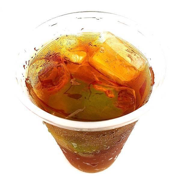 香港凍檸茶-側面