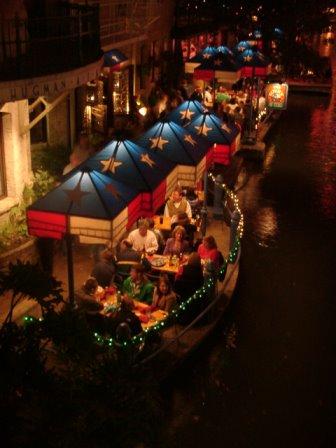 Night Scene of River Walk