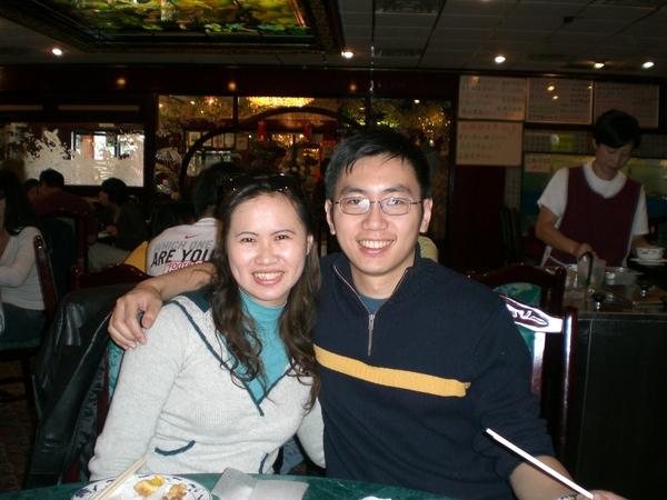 Luke and Mei-lin in Dim Sum Restaurant.JPG