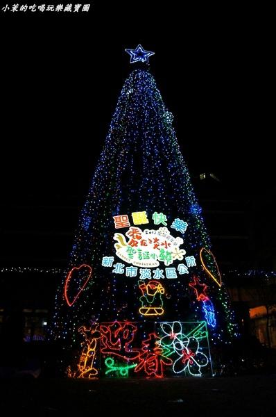 淡水老街:【台北】淡水小鎮耶誕夜~溫馨浪漫不夜城