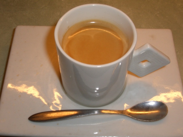 不加糖的咖啡