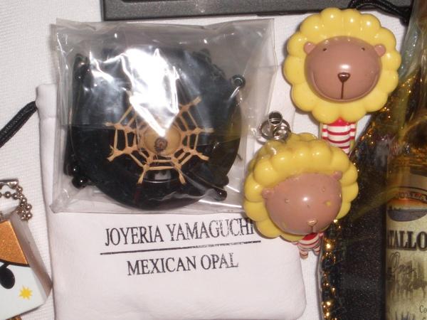 二隻奶油獅和墨西哥的幸運手環