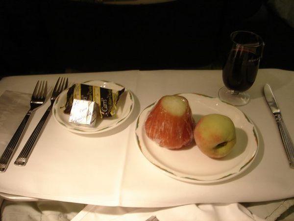 飯後水果及起司