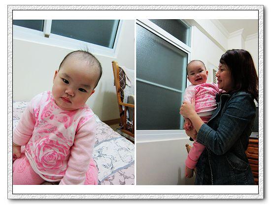 即將滿一歲的陳小恩