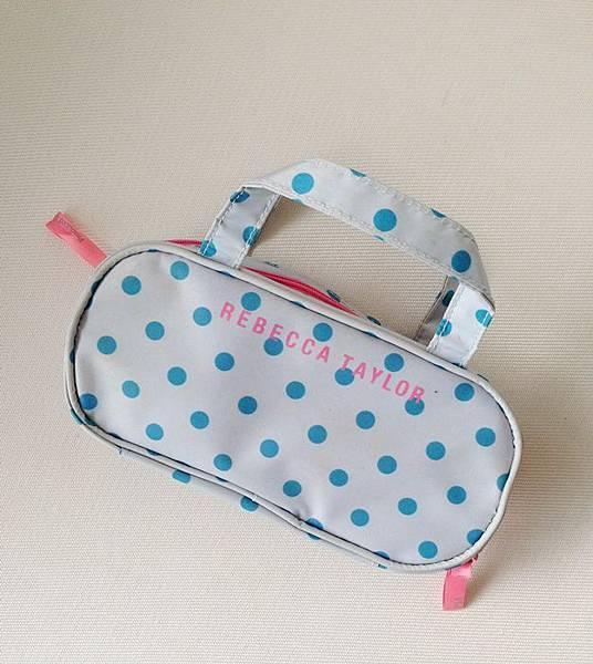旅行彩妝-旅行化妝包-日雜贈品包 Rebecca Taylor 點點化妝包 (12)