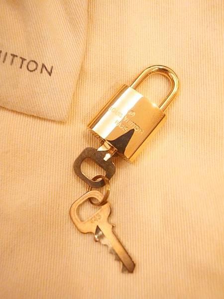 Louis Vuitton-LV-speedy 25-白色棋盤格 N41534-中夾-名片夾-零錢包-monogram-my wedding gift (20)