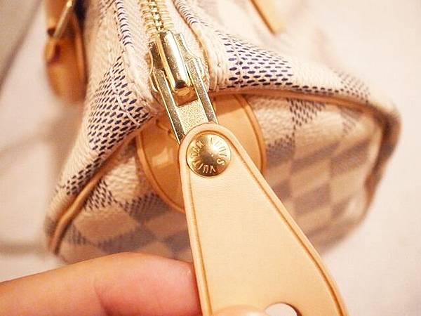 Louis Vuitton-LV-speedy 25-白色棋盤格 N41534-中夾-名片夾-零錢包-monogram-my wedding gift (12)