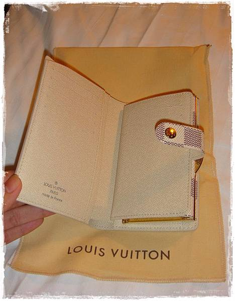 Louis Vuitton-LV-speedy 25-白色棋盤格 N41534-中夾-名片夾-零錢包-monogram-my wedding gift (5)