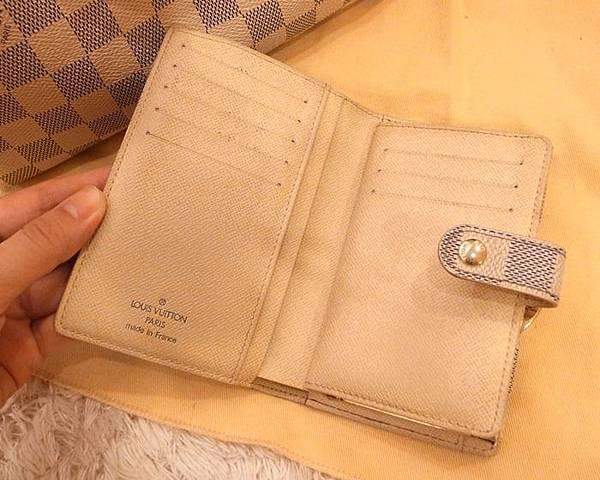 Louis Vuitton-LV-speedy 25-白色棋盤格 N41534-中夾-名片夾-零錢包-monogram-my wedding gift (25)