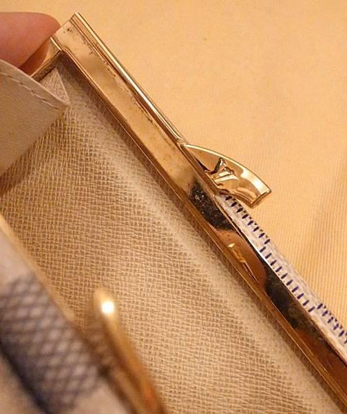 Louis Vuitton-LV-speedy 25-白色棋盤格 N41534-中夾-名片夾-零錢包-monogram-my wedding gift (30)