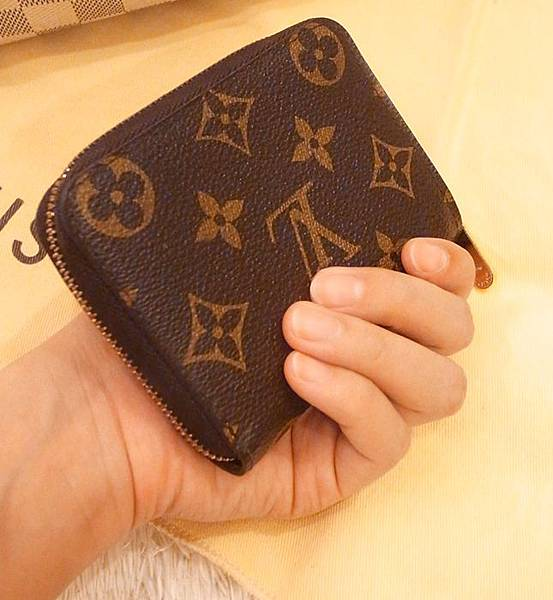 Louis Vuitton-LV-speedy 25-白色棋盤格 N41534-中夾-名片夾-零錢包-monogram-my wedding gift (36)