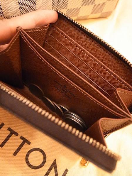 Louis Vuitton-LV-speedy 25-白色棋盤格 N41534-中夾-名片夾-零錢包-monogram-my wedding gift (33)