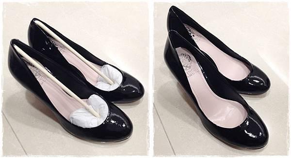 Vince Camuto-amazon購入-OL超百搭-黑色裸色漆皮高跟鞋 (29)