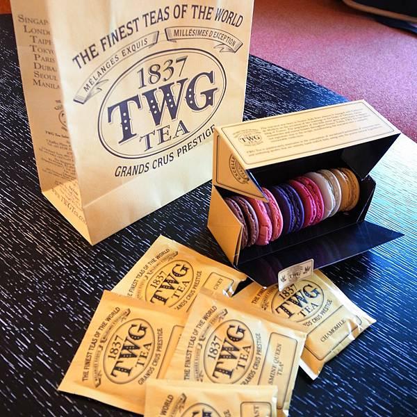 TWG新加坡茶品牌-馬卡龍下午茶-新加坡帆船飯店 (1)
