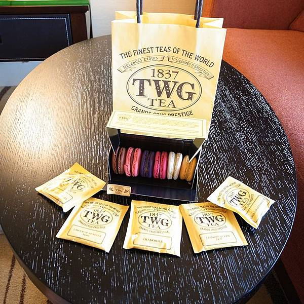 TWG新加坡茶品牌-馬卡龍下午茶-新加坡帆船飯店 (29)