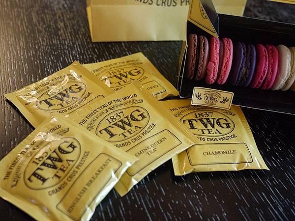 TWG新加坡茶品牌-馬卡龍下午茶-新加坡帆船飯店 (25)