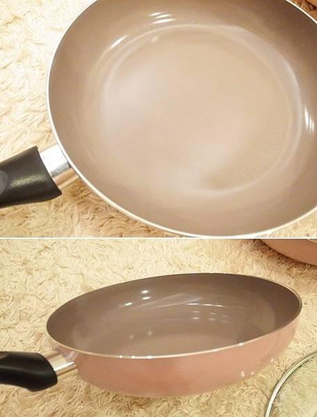 Mama Cook 綻粉陶瓷不沾鍋組-粉紅小廚房Pink粉紅鍋具-固崗平底鍋炒鍋木鏟 (10)