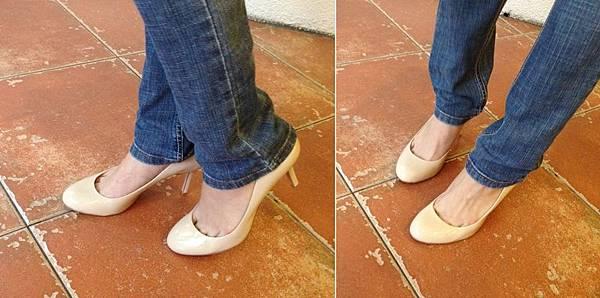 Vince Camuto-Amazon購入-OL百搭裸色漆皮細跟高跟鞋 (7)