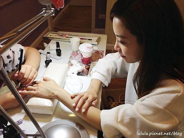 Amilynails 愛美麗美式光療指甲-中山店-新娘婚紗白紗款光療-cuccio (7)