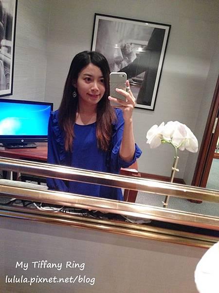 囍-Wedding-求婚戒-engagement Ring-夢幻Tiffany蒂芬妮鑽戒-公主方鑽Princess cut Diamond-blue box小藍盒 (14)