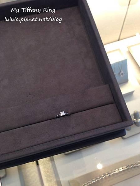 囍-Wedding-求婚戒-engagement Ring-夢幻Tiffany蒂芬妮鑽戒-公主方鑽Princess cut Diamond-blue box小藍盒 (20)