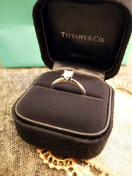 囍-Wedding-求婚戒-engagement Ring-夢幻Tiffany蒂芬妮鑽戒-公主方鑽Princess cut Diamond-blue box小藍盒 (57)