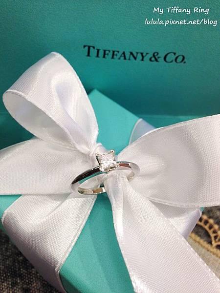囍-Wedding-求婚戒-engagement Ring-夢幻Tiffany蒂芬妮鑽戒-公主方鑽Princess cut Diamond-blue box小藍盒 (48)