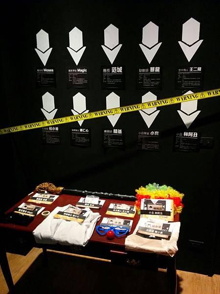 黑瞳dark eye 真人實境偵探推理遊戲-誰是兇手尋找犯人-馬戲團殺人事件 (2)