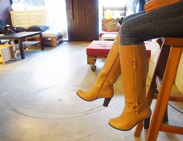 D+af Yahoo購物中心流行女鞋-長靴短靴軍靴工程靴-懶人鞋便鞋穿搭-冬季fashion1-韓國-鬼鬼-毛呢-國民鞋 (44)