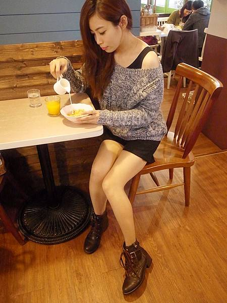 D+af Yahoo購物中心流行女鞋-長靴短靴軍靴工程靴-懶人鞋便鞋穿搭-冬季fashion1-韓國-鬼鬼-毛呢-國民鞋 (52)