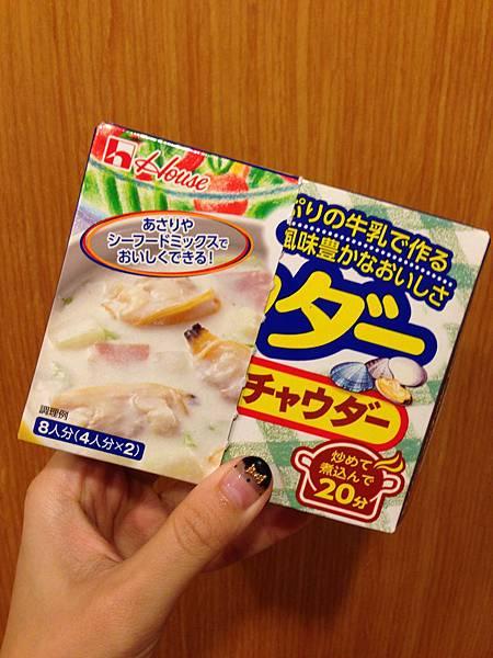 日本House好侍北海道濃湯塊-蛤唎