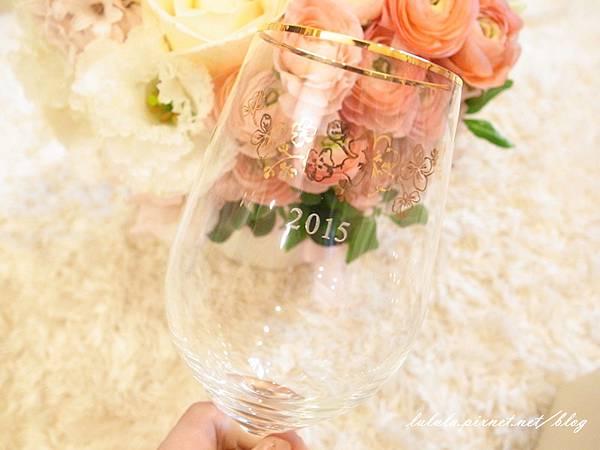 Wedding Gift 結婚禮物-Afternoon Tea 紅酒杯對杯組2015雕花 (9)