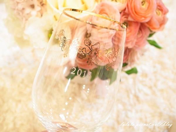 Wedding Gift 結婚禮物-Afternoon Tea 紅酒杯對杯組2015雕花 (8)