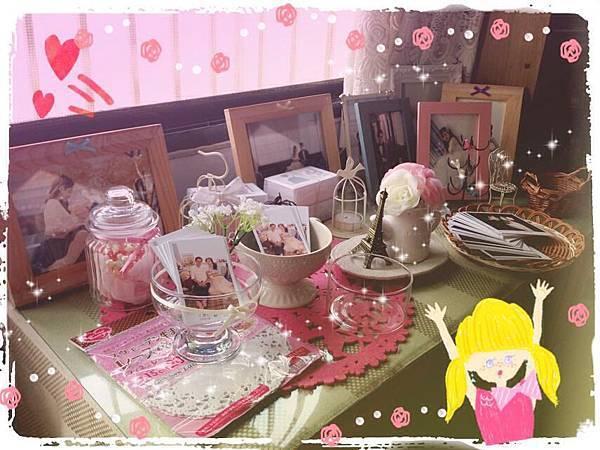Wedding-Daiso大創好物-小資新娘的婚禮佈置-玻璃冰淇淋杯DIY蝴蝶結緞帶浪漫小卡置物杯 (2)