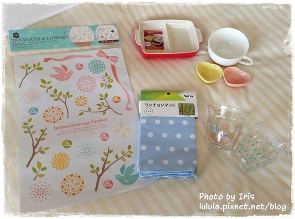 日本鄉村風雜貨-Seria百元店-台灣icolor-板橋新埔三猿廣場-點點控的點點餐具-粉紅粉藍點點竹筷-粉紅點點隔熱手套 (2)