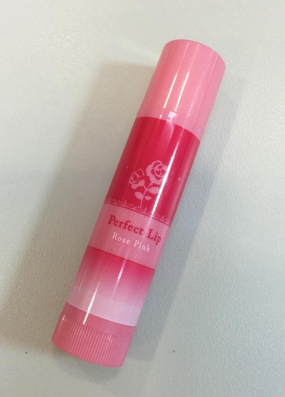 日本戰利品-彩妝-曼秀雷敦口紅護唇膏-防曬變色護唇膏Perfect Lip Rose Pink (110)