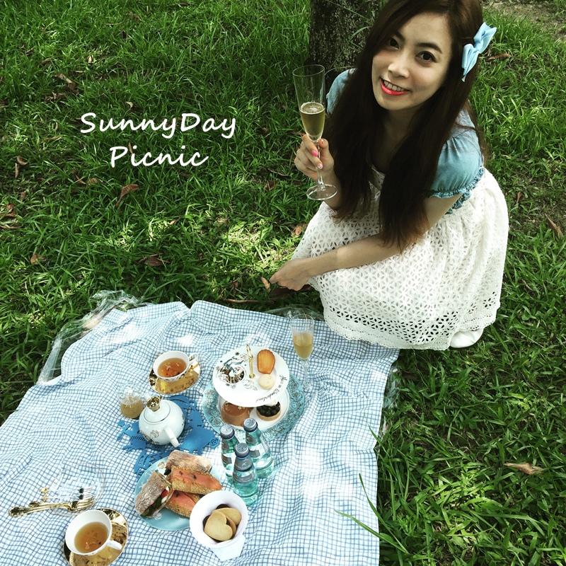 野餐picnic-牛仔單寧-愛麗絲夢遊仙境Alice in Wonderland (1)