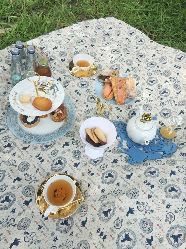野餐picnic-牛仔單寧-愛麗絲夢遊仙境Alice in Wonderland (21)