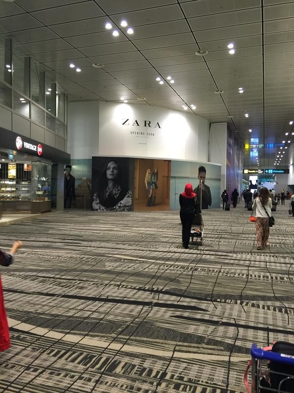 馬爾地夫蜜月行-新加坡機場過境 (1)