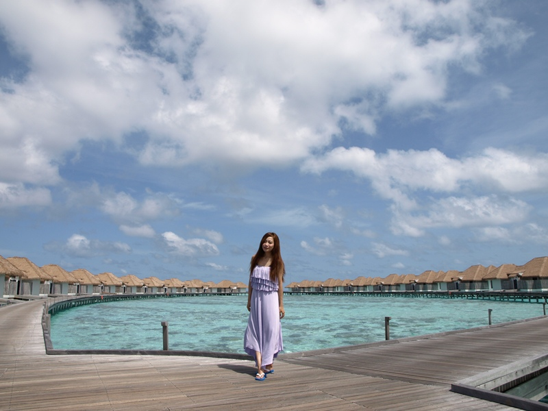 Honeymoon Maldives馬爾地夫蜜月旅行-Maalifushi by COMO住宿水上屋Water Villa房間 (229)