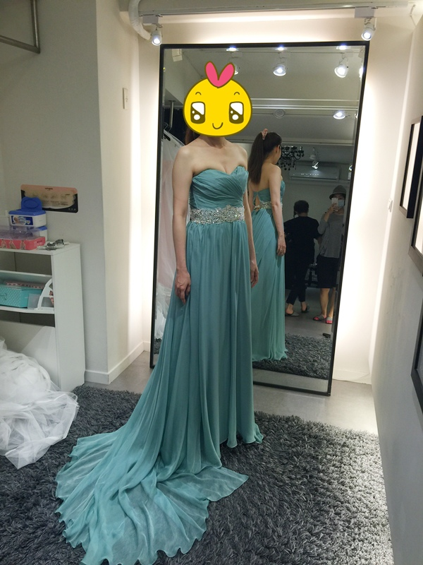 WHITE 手工婚紗試穿-白紗禮服 (53)