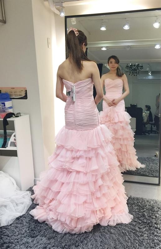 WHITE 手工婚紗試穿-白紗禮服 (56)