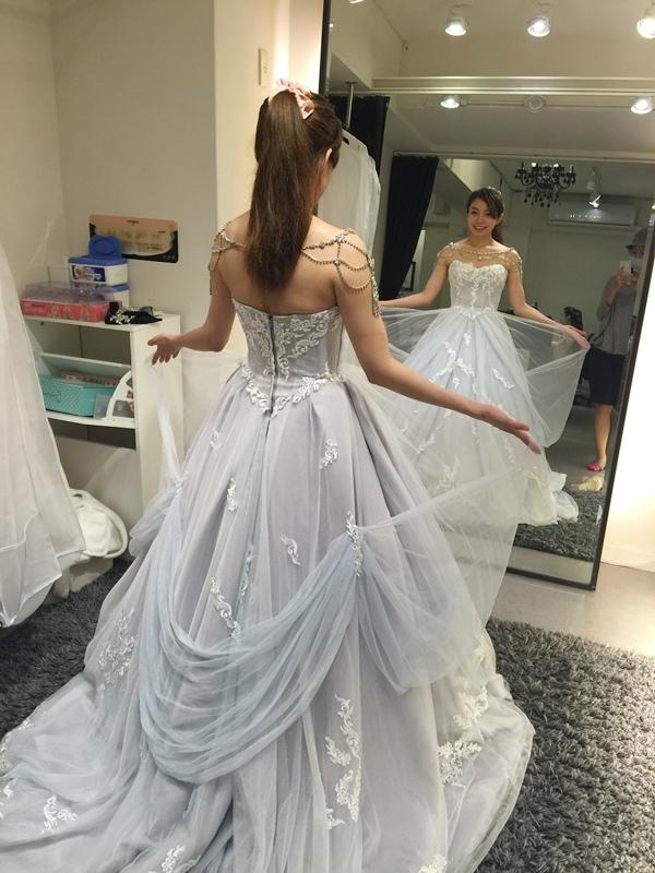 WHITE 手工婚紗試穿-白紗禮服 (65)