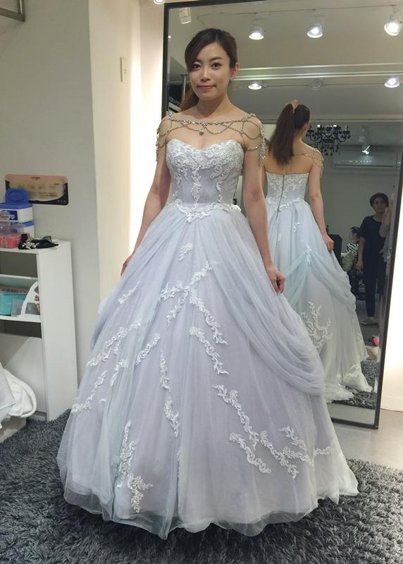 WHITE 手工婚紗試穿-白紗禮服 (61)